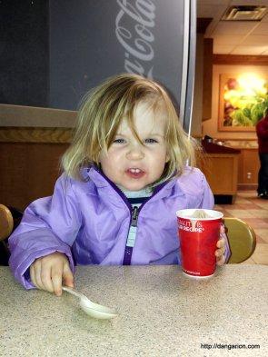 Abby's Grrrr Face