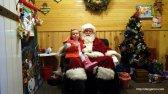 Meeting Santa Claus again.