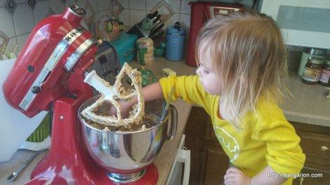 Making cookies!
