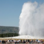 The world's biggest volcano – Yellowstone.