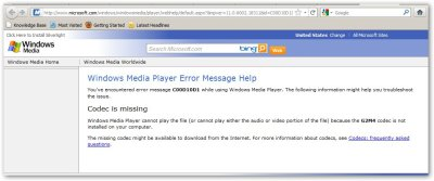 """Microsoft – Windows Media Player – Unable to Play """"GoTo Meeting"""" Video 