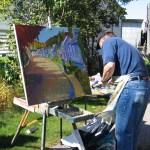 Daniel Froment artiste peintre painter artworks toile peinture oeuvre paysage Charlevoix Baie-Saint-Paul