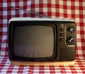 old television - photo