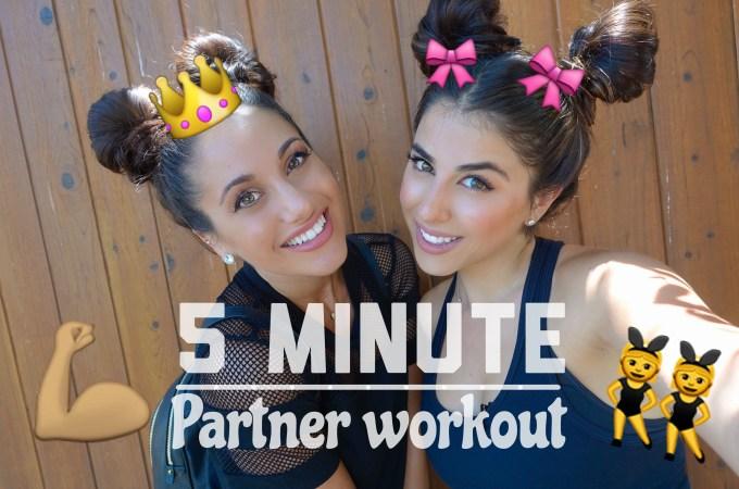 5 MIN // Partner Workout