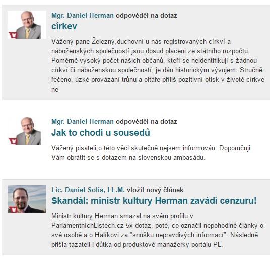 Herman obložen