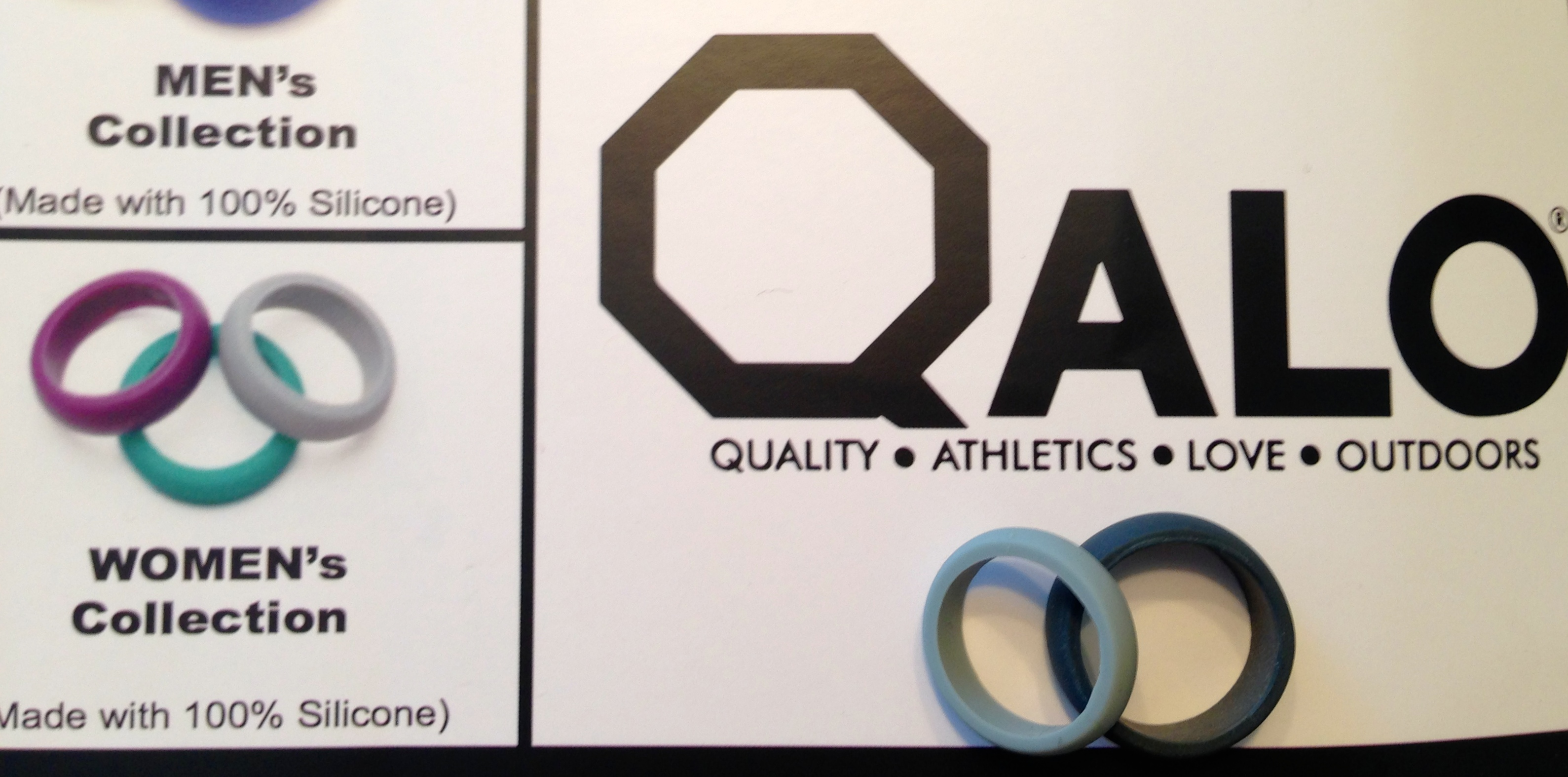 product review qalo wedding bands workout wedding rings Product Review Qalo Wedding Bands