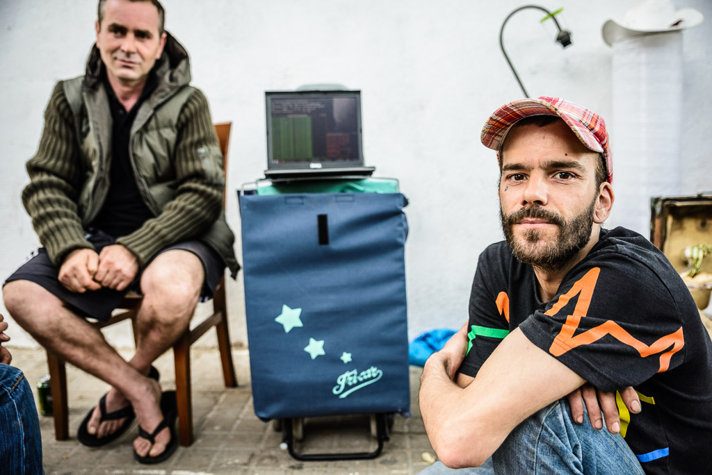 recycling, scrap metal, Barcelona, survive, go ahead