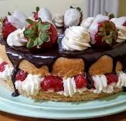 Marzipan cake has been a popular Danish treat for generations.