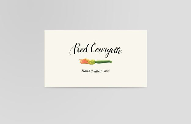 Red Courgette Branding