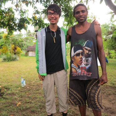 瓦努阿圖 Danny與Glen