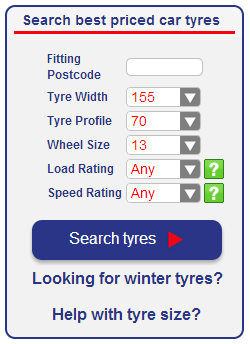Tyre information needed from eTyres