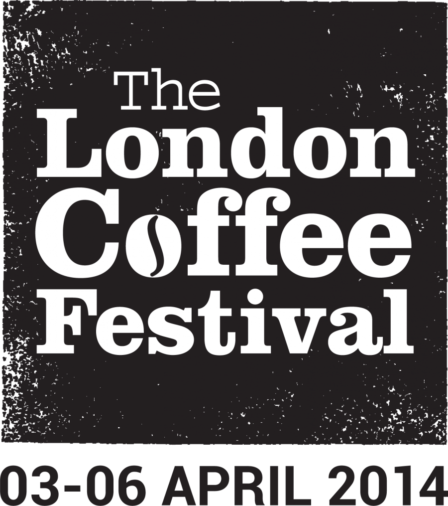 London Coffee Festival 2014 Logo with Date