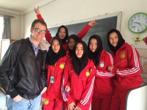 Girls from Guizhou Training at the School