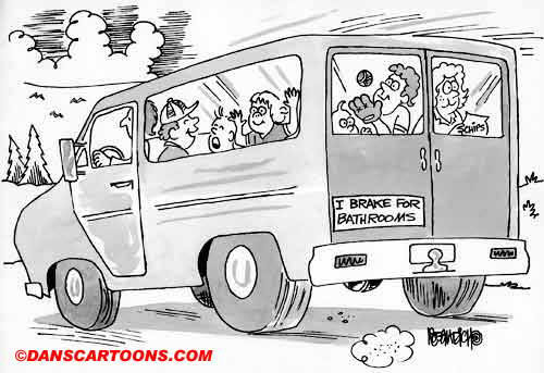 Car Automobile Cartoon 37 a Cartoon Image and funny joke in the genre of cars and automobiles. Images for license by Dan Rosandich
