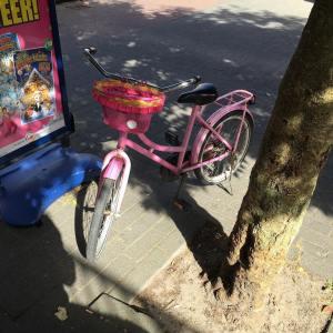 kleingeluk Even op de fiets van een klein meisje passenhellip