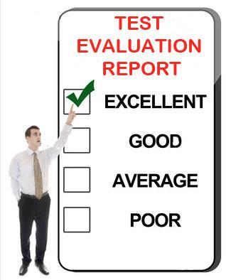 test-evaluation-report