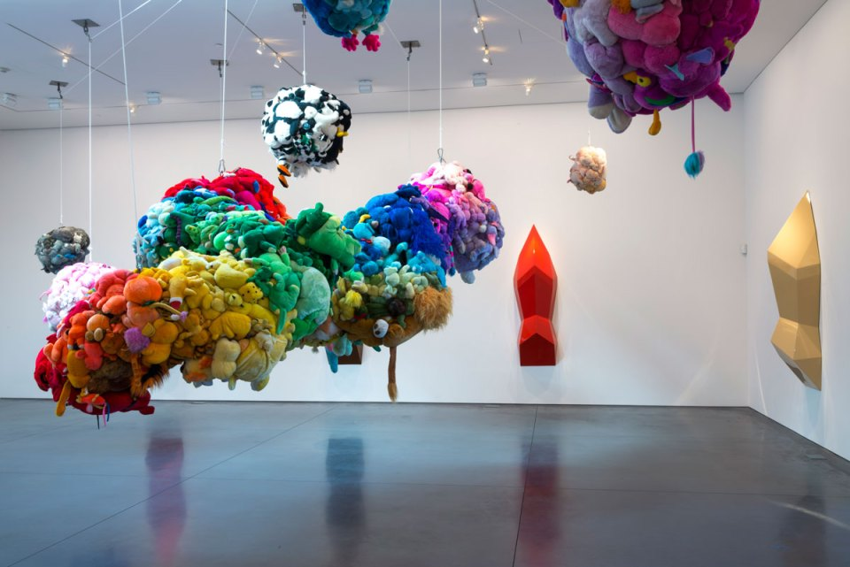 Mike Kelley, Deoderized Central Mass with Satellites