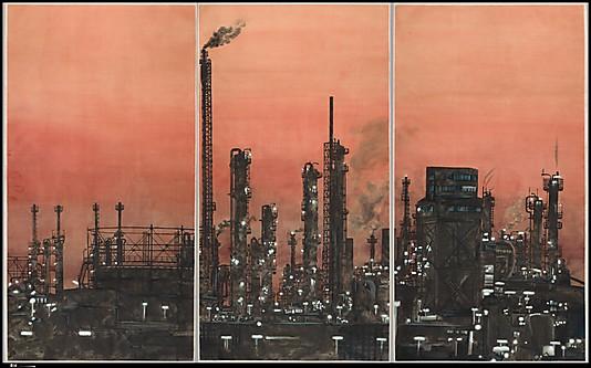Yang Jiechang, Crying Landscape. Ink Art, Metropolitan Museum of Art.