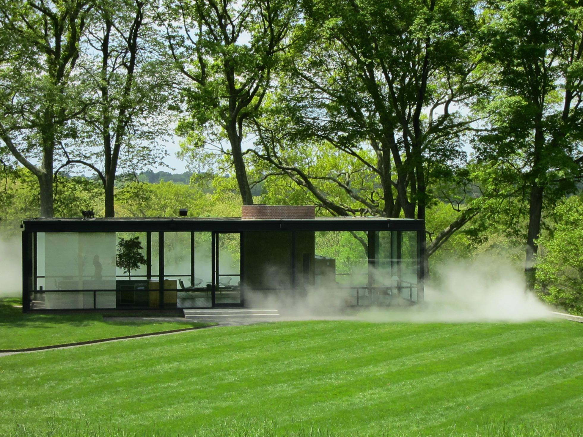Visit the philip johnson glass house a fine prospect - Philip johnson glass house ...