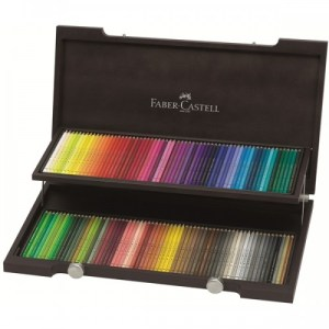 Faber-Castell-Color-Pencil-Polychromos-wood-case-of-120