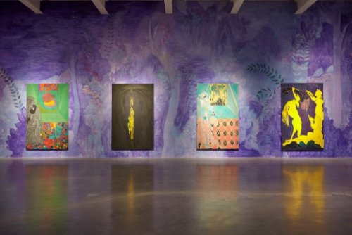 Chris-Ofili-Night-and-Day-Installation-View-New-Museum