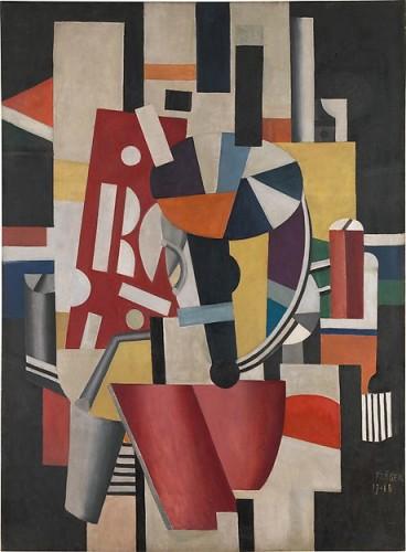 Fernand-Leger-Composition-1918-Metropolitan-Museum-of-Art