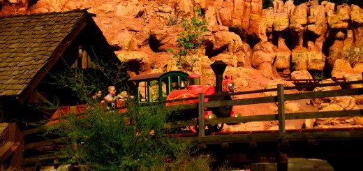 Refurbished Big Thunder Mountain