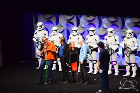 Star Wars The Force Awakens Panel Star Wars Celebration Anaheim-82