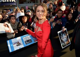 """HOLLYWOOD, CALIFORNIA - APRIL 12: Actress Chloe Bennet attends The World Premiere of Marvel's """"Captain America: Civil War"""" at Dolby Theatre on April 12, 2016 in Los Angeles, California. (Photo by Charley Gallay/Getty Images for Disney) *** Local Caption *** Chloe Bennet"""