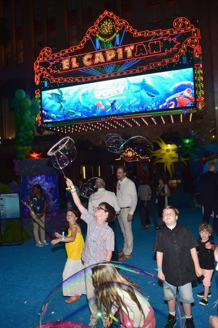 HOLLYWOOD, CA - JUNE 08: Guests attend The World Premiere of Disney-Pixar's FINDING DORY on Wednesday, June 8, 2016 in Hollywood, California. (Photo by Alberto E. Rodriguez/Getty Images for Disney)