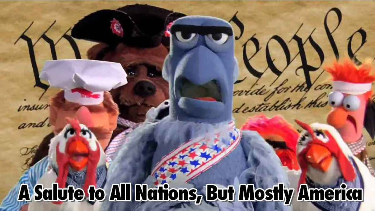 All Salute To All Nations, But Mostly America - Geeks Corner - Episode 539