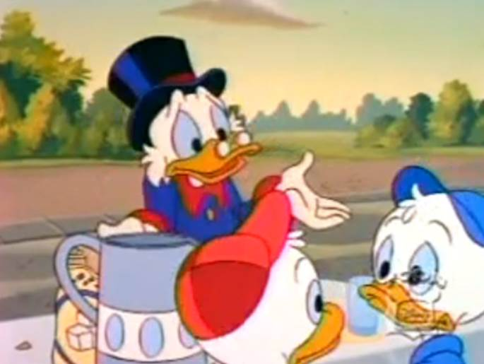 Making Money At The Expense of Others - Life Lessons From Ducktales