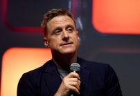 LONDON, ENGLAND - JULY 15: Alan Tudyk on stage during the Rogue One Panel at the Star Wars Celebration 2016 at ExCel on July 15, 2016 in London, England. (Photo by Ben A. Pruchnie/Getty Images for Walt Disney Studios) *** Local Caption *** Alan Tudyk