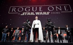 LONDON, ENGLAND - JULY 15: Ben Mendelsohn during the Rogue One Panel at the Star Wars Celebration 2016 at ExCel on July 15, 2016 in London, England. (Photo by Ben A. Pruchnie/Getty Images for Walt Disney Studios) *** Local Caption *** Ben Mendelsohn