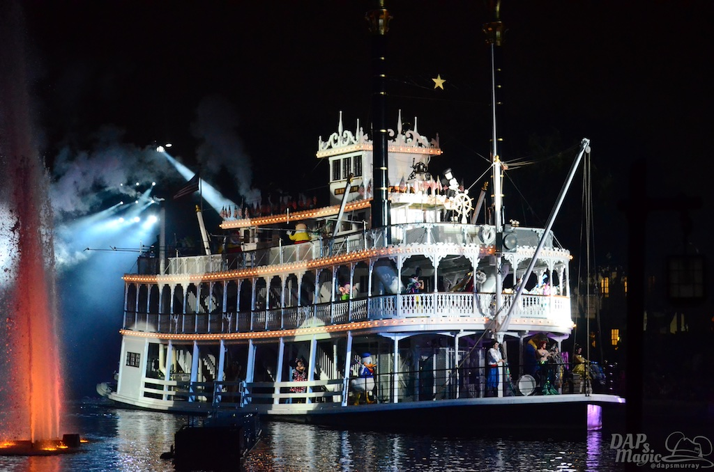 Mark Twain, Railroad and Fantasmic to Return Summer 2017