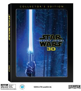 Star Wars: The Force Awakens 3D Blu-Ray Collector's Edition To Be Released