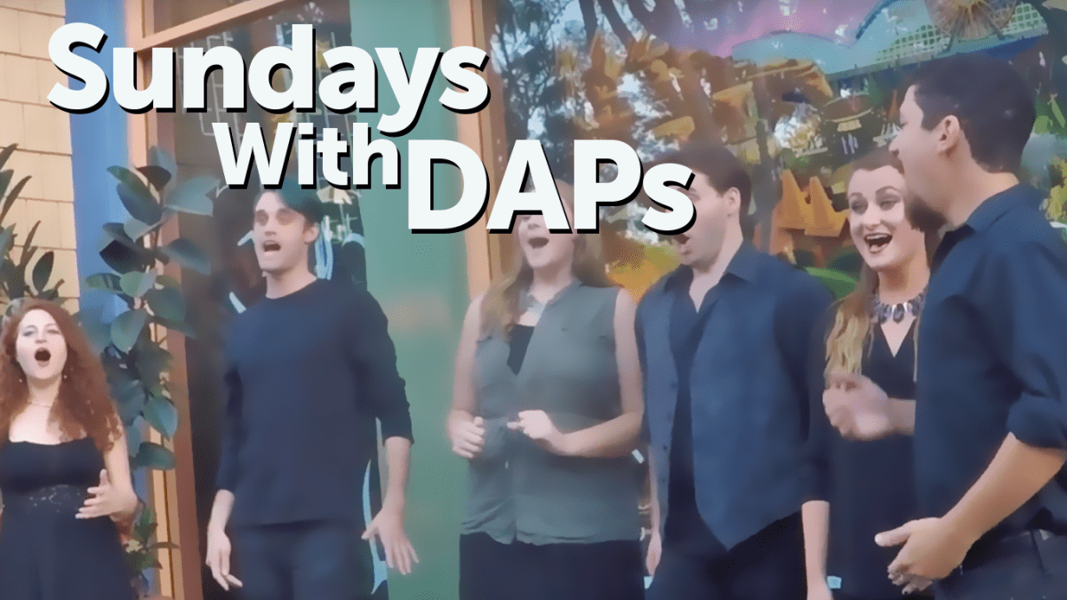 Downtown Disney Entertainment: WestBeat Sings Star Wars - Sundays With DAPs