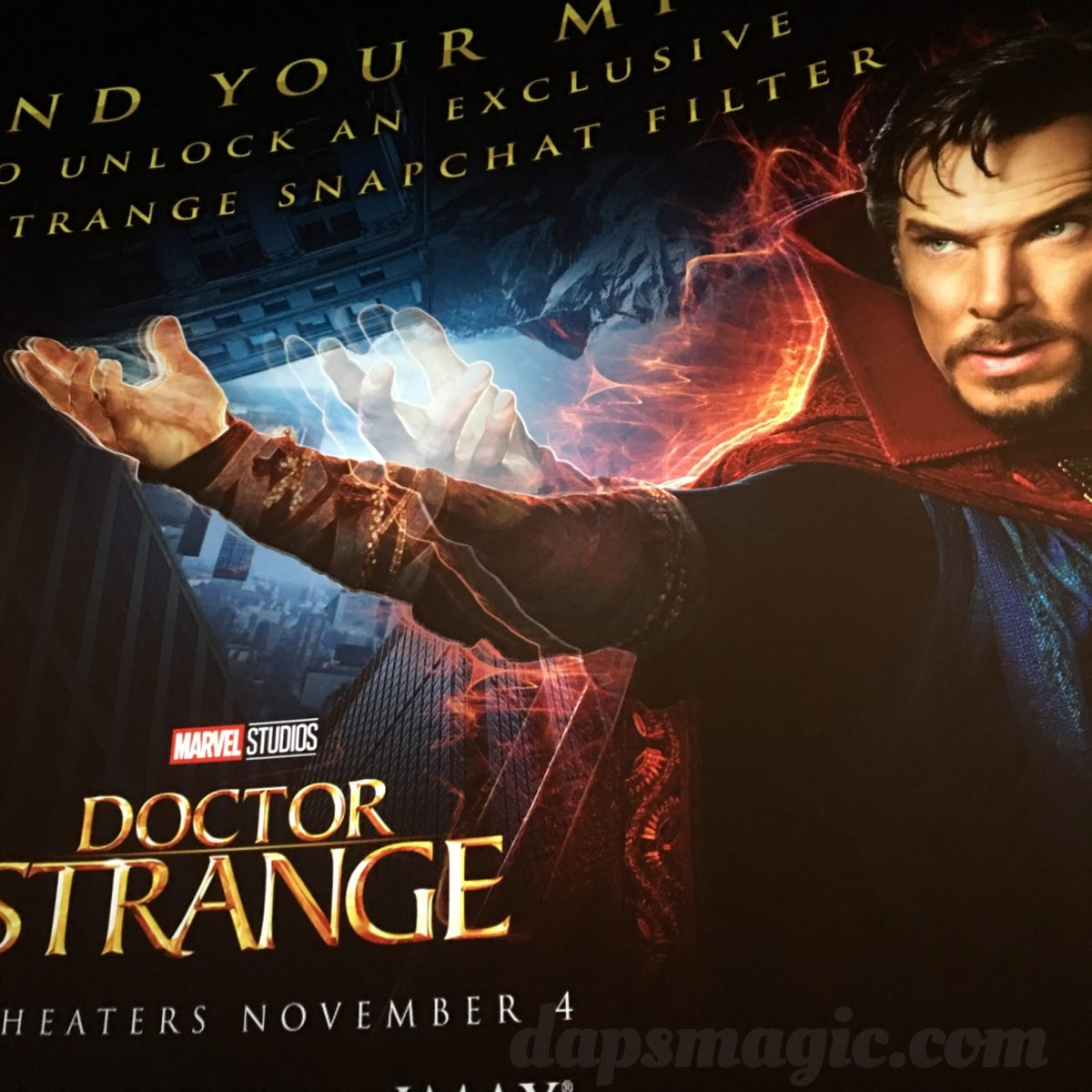Why IMAX 3D Will Be The Way To Watch Doctor Strange