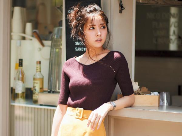 Vネックニットで女らしく♡おすすめ秋コーデ5選