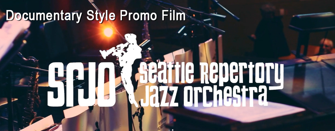 Seattle Repertory Jazz Orchestra Promo Video