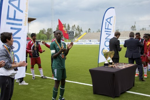 A round of applause to CONIFA. Photo: Gabriel Stauring / i-ACT