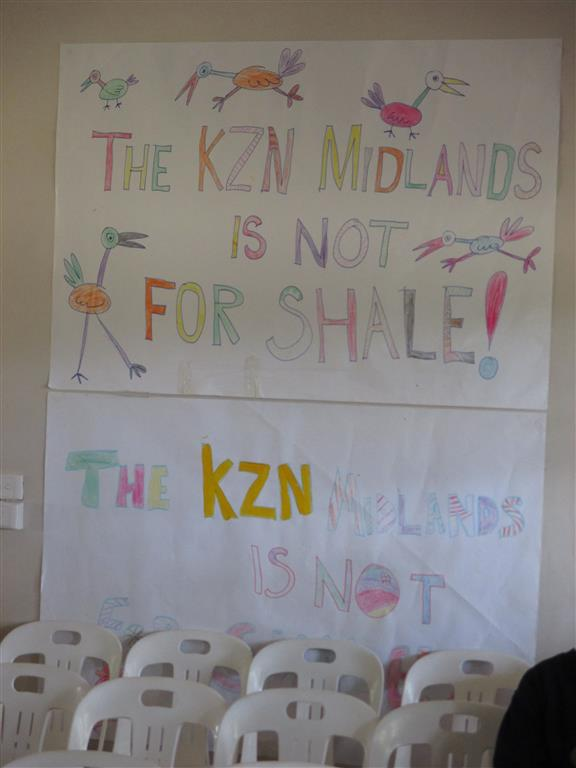KZN Midlands is not for Shale