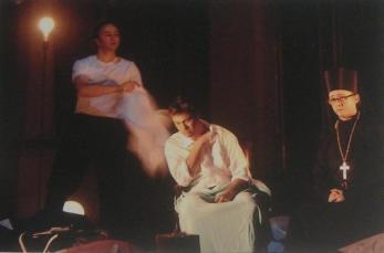 Stephan Rügamer,Rene Pape and Alexander as Pimen