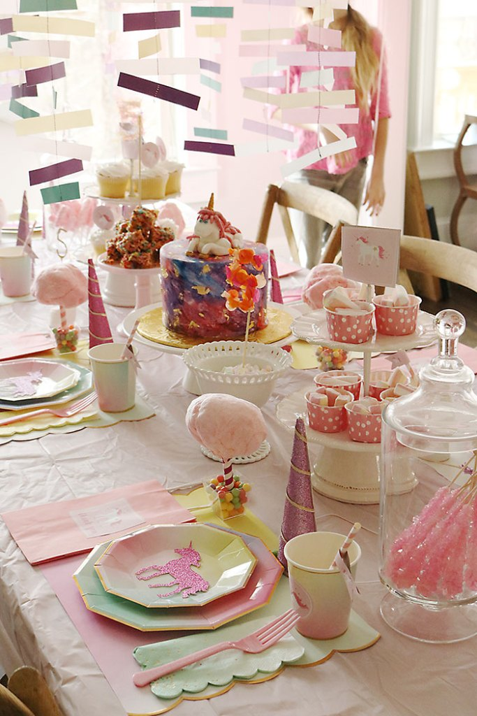 Unicorn Birthday Party Darling Darleen A Lifestyle