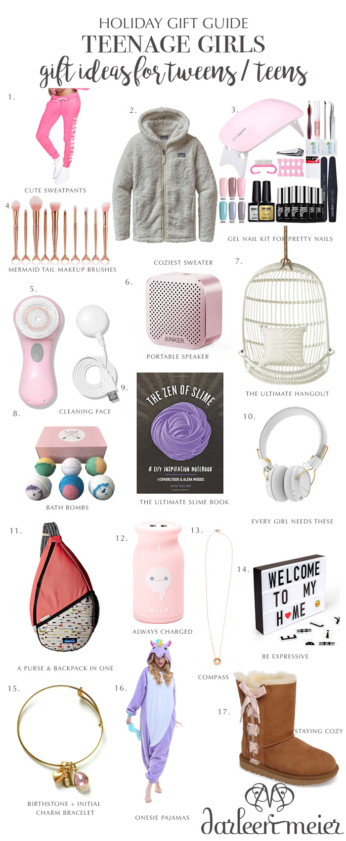 Teen girl gift suggestions