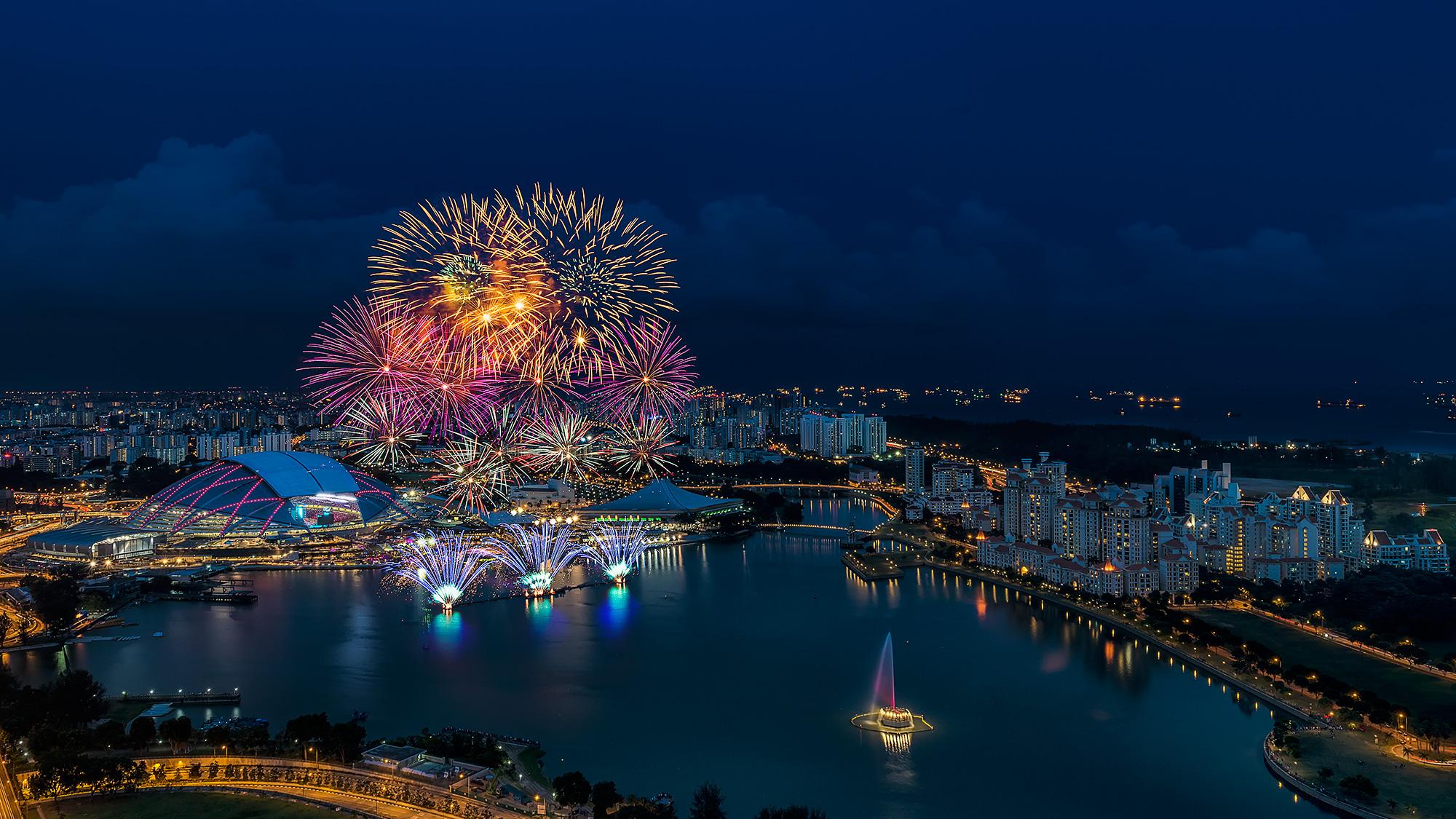 National-Stadium-Fireworks-View