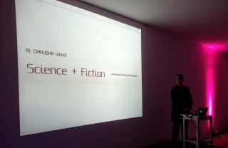Audio and Slides from my Science + Fiction Talk