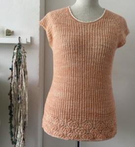 Briocheknitting, Merino-Silk-Lace, Lucille