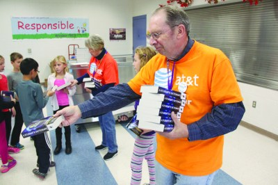 Nearly 120 Windsor Elementary 3rd graders receive donated dictionaries to help further education ...