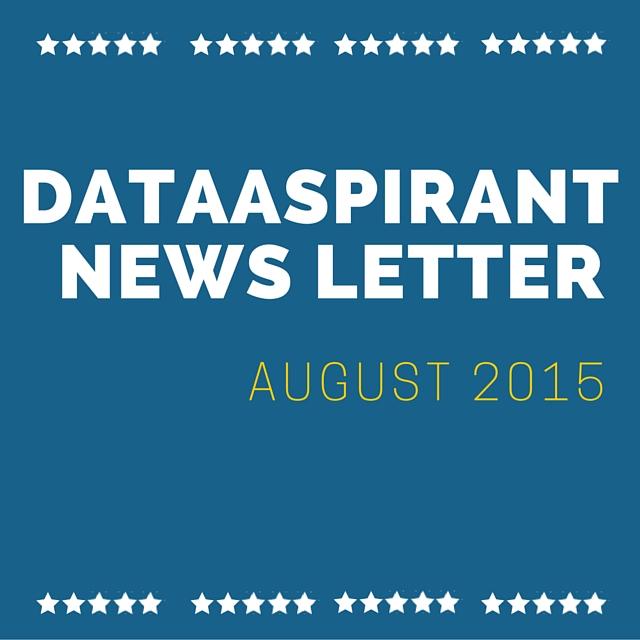 Dataaspirant news letter for August